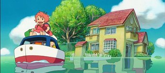 Cineclube: Ponyo no cantil